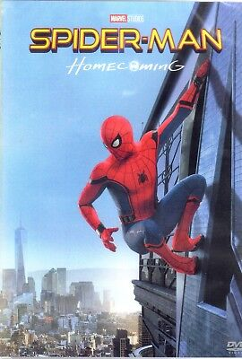DVD Spider-Man Homecoming MARVEL studios