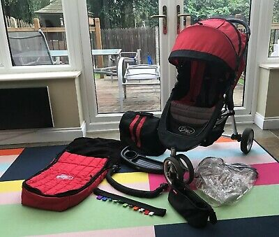 Baby Jogger City Mini Pushchair Belly Bar SnackTray Foot Muff Rain Cover Console