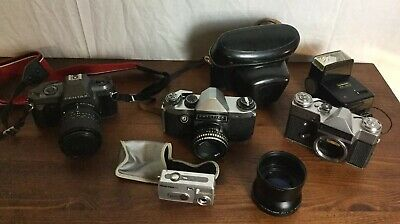 Selection Of Quality/Vintage Cameras, Lenses, Photography Equipment - Job Lot.