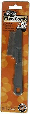 GoGo Pet Products Cat and Dog Flea Double Row Pet Grooming Comb