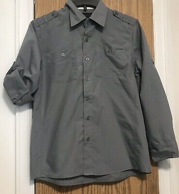 Sovereign Code Boys Button Up Shirt  Size  Large 14/16
