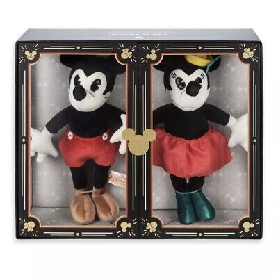 NIB Disney Parks Limited Release Mickey & Minnie Mouse Plush Set