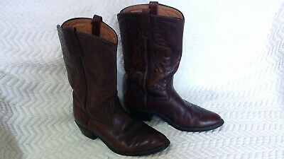 19d7525bbdf VINTAGE MENS RED WING BOOTS LEATHER WESTERN COWBOY SIZE 8.5--8 1/2 ...