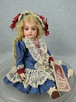 "12"" Artist Antique Reproduction French Bisque Head Bru Jne doll Jean Nordquist"