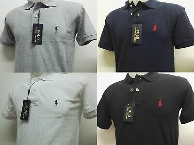 Ralph Lauren Polo Man's shirt Short Sleeve Custom Fit Free & Fast UK Delivery