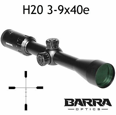 Barra Rifle Scope BDC Reticle Capped Turrets for Hunting Shooting Precision D...
