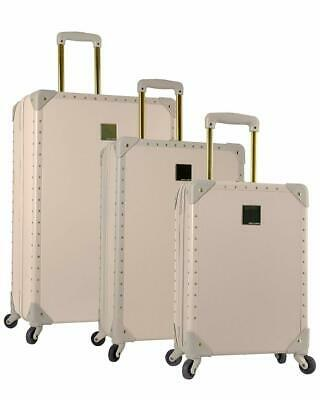 Vince Camuto Jania 3 Piece Spinner Luggage Set Latte