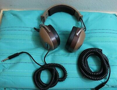 Vintage KOSS K/6A Stereo Headphones Tested/Loud & Clear  Over 10' Cord XlntCond