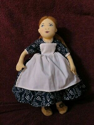 """Inc NIOP 1998 Eve Doll Historic Colonial Williamsburg by MerryMakers 12/"""""""