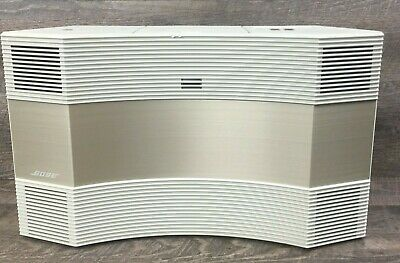 Vintage BOSE CD-3000 Acoustic Wave Music System White and Gold Exc++ Condition
