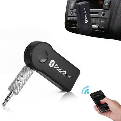 Ricevitore Audio Wireless Per Auto Adattatore Bluetooth Mic Incorporat AUX 3,5mm