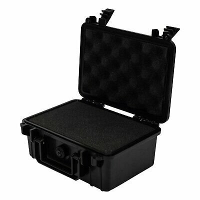 Large Hard Black Case Camera Photography Carry Storage Tool BOX - with Foam