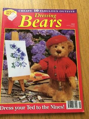Dressing Bears Patterns Unused