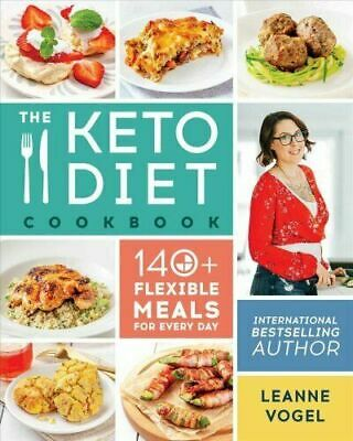 Keto Diet Cookbook : 140+ Flexible Meals for Every Day (PDF)
