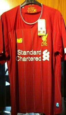 2019/20 Liverpool Fc Home Shirt Brand New With Tags Size Small