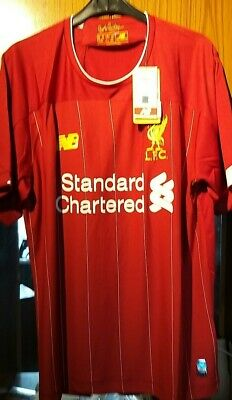 2019/20 Liverpool Fc Home Shirt Brand New With Tags Size Medium