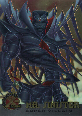 1995 X-Men Ultra All-Chromium Base Trading Card #71 MR. SINISTER Fleer Marvel