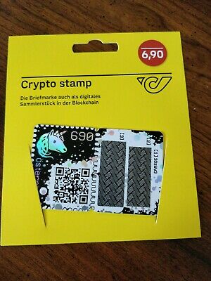 CRYPTO STAMP - GREEN edition - Limited to 40k - Ethereum Cryptocurrency Collecti