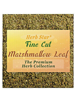 Marshmallow leaf & Mullein - 50:50 herbal combo blend, smooth greengo tea etc.
