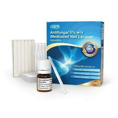 Amorolfine 5% Medicated Nail Fungal Treatment Lacquer 3ml (Curanail Loceryl)