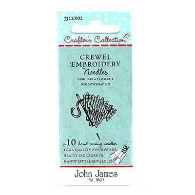 John James Crafter's Collection CREWEL EMBROIDERY SIZE 22/26