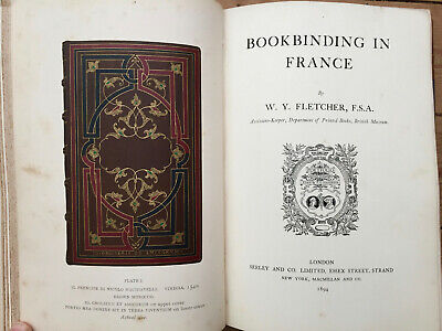 4 in1 Portfolio-Bookbinding in France & 3 Others with 19 Plates - See Below