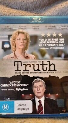 Truth  - BLU-RAY - NEW/UNSEALED  Region FREE