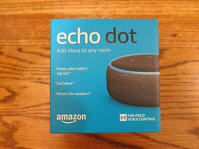 Amazon Echo Dot 3rd Generation Smart Speaker with Alexa Charcoal