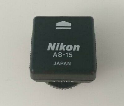 Genuine Nikon AS-15 Sync Terminal Adapter