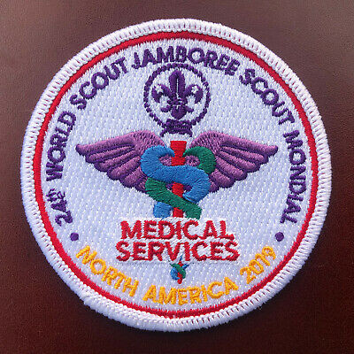 24th World Scout Jamboree 2019 - Medical Staff Patch