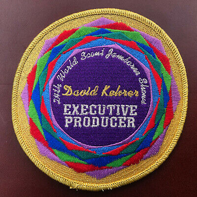 24th World Scout Jamboree 2019 - Shows Executive Producer Patch - VERY RARE