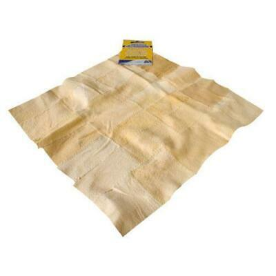 NATURAL REAL CHAMOIS LEATHER CLOTH SHAMMY Buy 3 Get 1 Free CLEANING CAR CLEAN