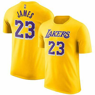 info for 604ae 4f136 YOUTH LOS ANGELES Lakers LeBron James Yellow Name And Number ...