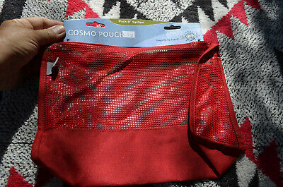 Eagle Creek vintage New item nylon COSMOPOUCH RED toiletries cosmetic bag travel