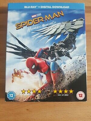 Spider-Man Homecoming Blu-ray ***Sleeve Only with digicode**