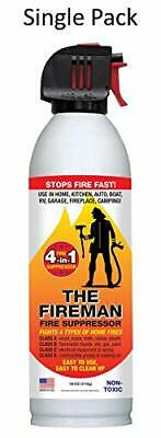 The Fireman Fire Extinguisher Suppressant Spray: UL Approved  Home Use 18 oz