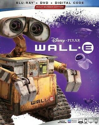 Wall-E [New Blu-ray] With DVD, 3 Pack, Ac-3/Dolby Digital, Digital Copy, Dolby