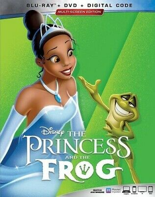 Princess And The Frog [New Blu-ray] With DVD, 2 Pack, Ac-3/Dolby Digital, Digi