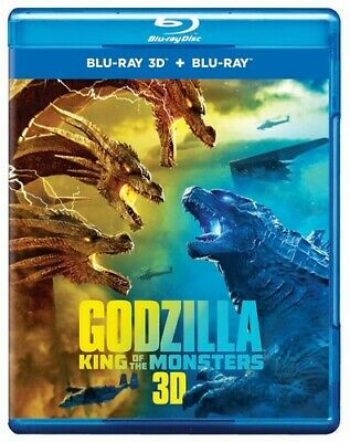 Godzilla: King Of The Monsters Blu-ray 3D