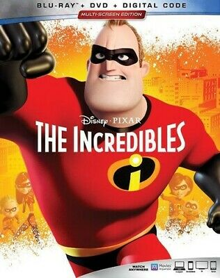 The Incredibles [New Blu-ray] With DVD, 3 Pack, Ac-3/Dolby Digital, Digital Co
