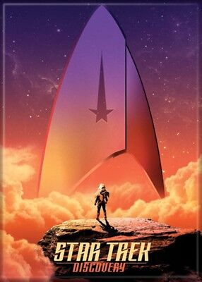 Star Trek Discovery Poster Photo Magnet