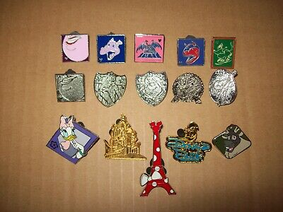 LOT of 15 Disney Trading Collectible PINS Official Ursela Jessica Rabbit Dumbo