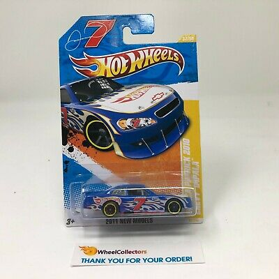 Danica Patrick 2010 Chevy Impala #37 * Blue * 2011 Hot Wheels * S28