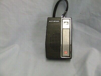 National Portable Transistor Radio  AM