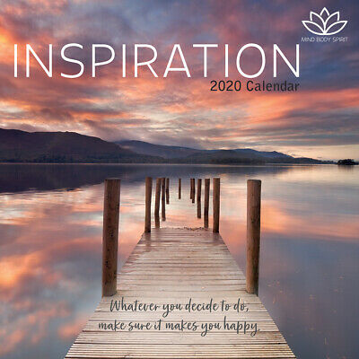 Inspiration 2020 Square Wall Calendar by Gifted Stationery