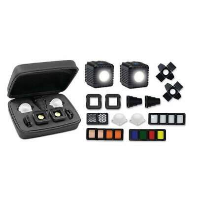 NEW! Lume Cube Professional Lighting Kit - 2 Lights Diffusers + Modifiers