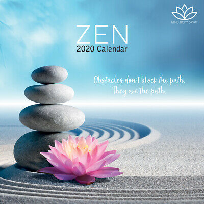 Zen 2020 Square Wall Calendar by Gifted Stationery