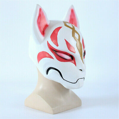 Kitsune Fortnight drift Mask Fox PVC mask battle royale mask full face