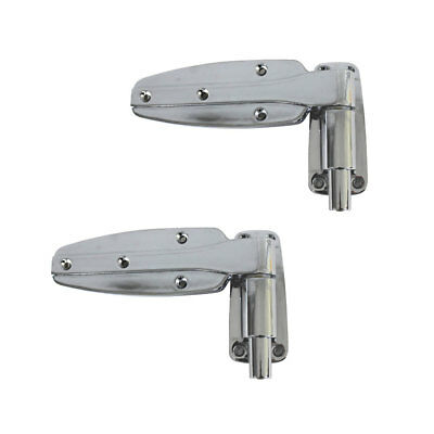 2pc Heavy Duty Fridge Door Hinge Reversible Reach-in Cam-Rise for Coolroom