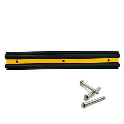1000mm Loading Dock Bumpers Rubber B-section Wall Protector with Bolts